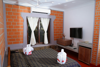 Beautifully designed interiors with a comfortable stay | Kairali-The Ayurvedic Healing Village