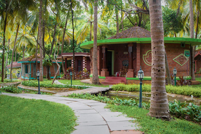 A perfect gateway to a wonderful stay at the villa | Kairali-The Ayurvedic Healing Village
