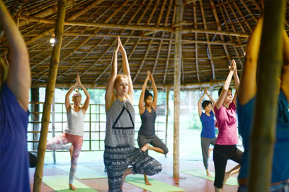 Regular Yoga and Meditation sessions are a ritual that Kairali follows | Kairali-The Ayurvedic Healing Village