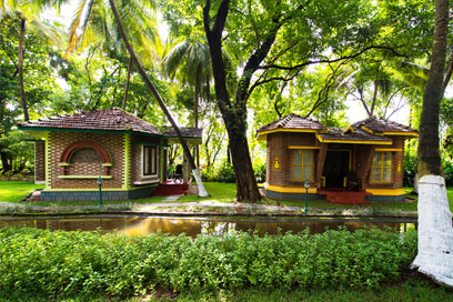 A perfect shade to enjoy the fresh air of Kerala | Kairali-The Ayurvedic Healing Village