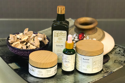 Medicated Ayurvedic products used in performing Ayurvedic treatments and therapies | Kairali-The Ayurvedic Healing Village