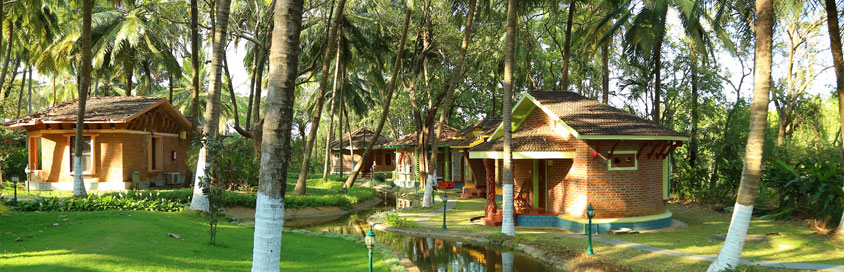 The warmth and natural beauty around the Deluxe Villa | Kairali-The Ayurvedic Healing Village