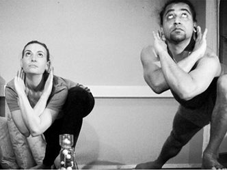 Yoga retreat by Prav and Simona from Denmark