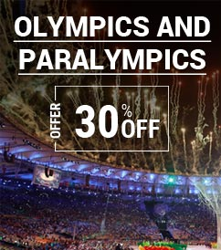 Olympics and Paralympics athletes get up to 30% OFF