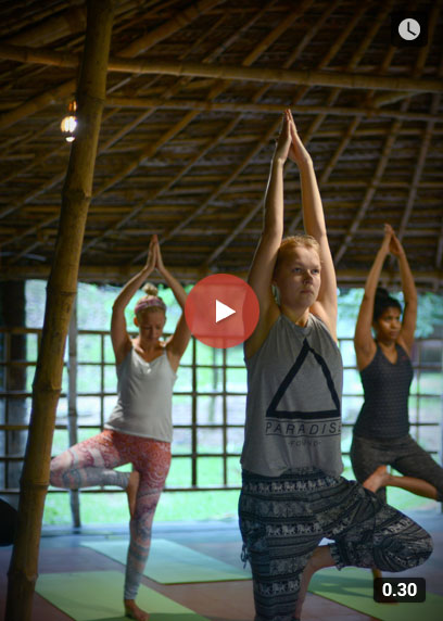A completely relaxing and rejuvenating Yoga experience with Lakshya | Kairali-The Ayurvedic Healing Village